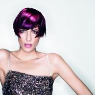 Vad színek és drámai hatás az új frizura trend