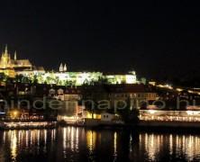 Prágai séta hajnalban