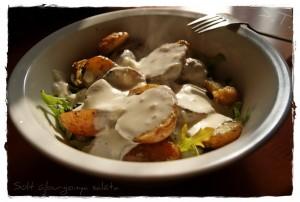 sült újburgonya saláta