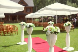 esküvő zöld