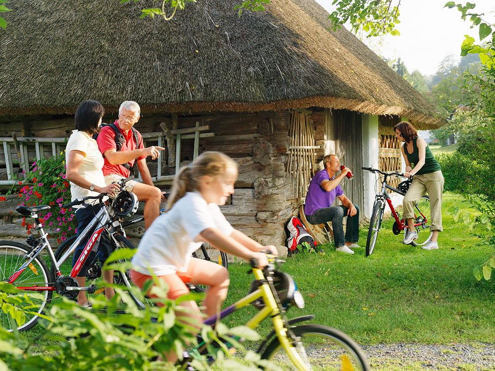 burgenland családi kerékpározás