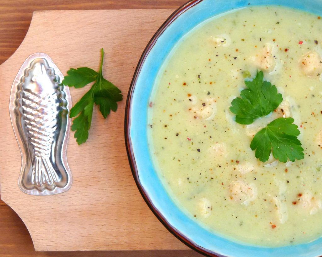 Mérleg 01 zöldségleves halas galuskával