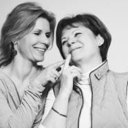 Schell Judit és Édesanyja együtt szépülnek anyák napja alkalmából