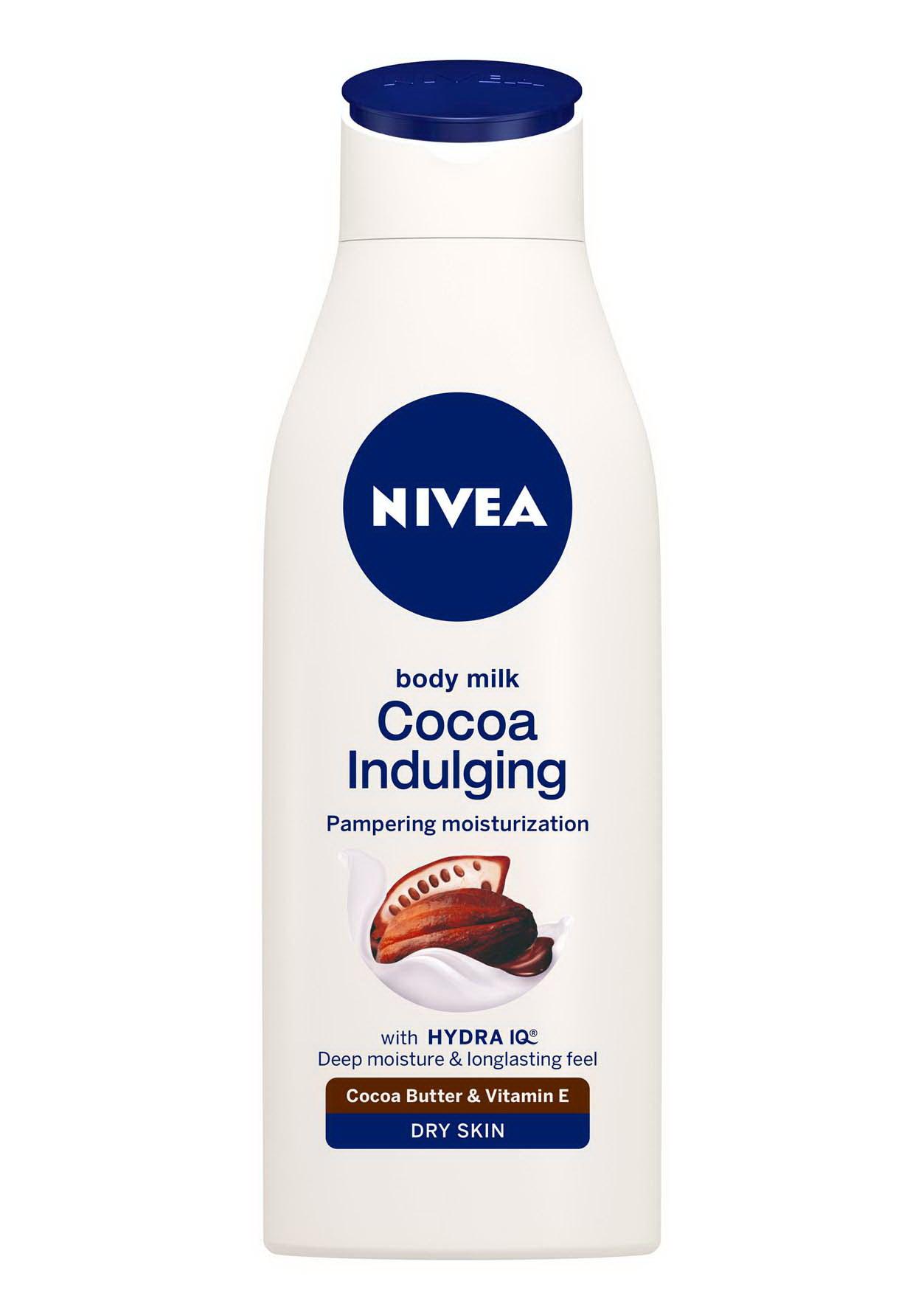 NIVEA Cocoa Indulging Testápoló Tej 1249Ft