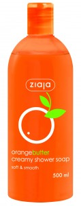 Ziaja_Orange butter creamy shower soap