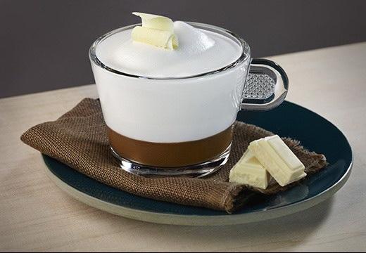 Erdei gyümölcsös Cappuccino újragondolva fehér csokoládéval