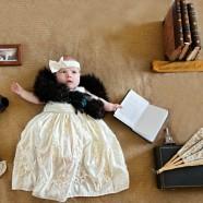 Cuki és arisztokratikus babafotók a Downton Abbey ihletésével