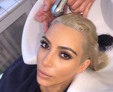 Kim szőkeségét akarja az internet…