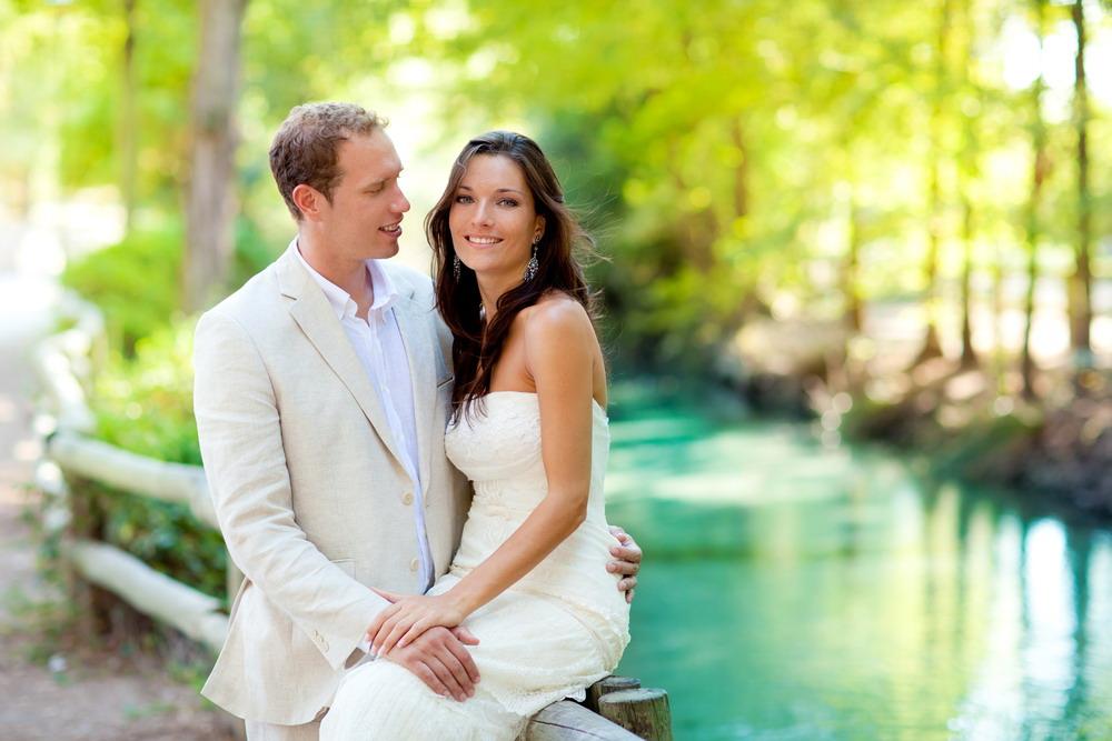 esküvő pár