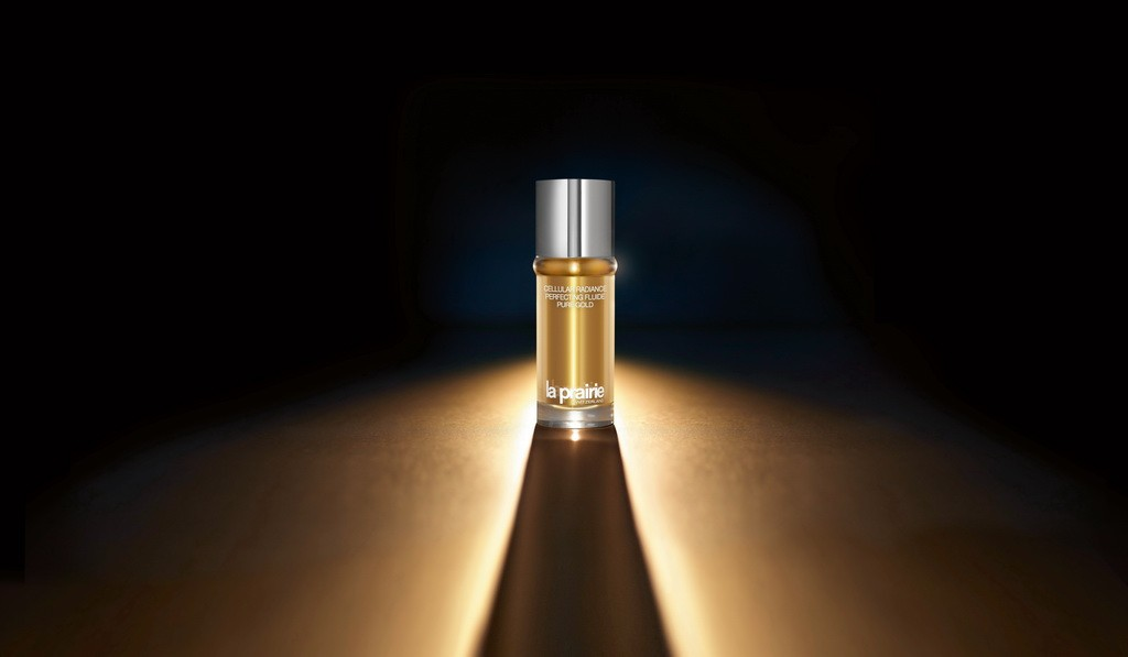 04 la prairie_Cellular Radiance Perfecting Fluide Pure Gold_product shot_mood