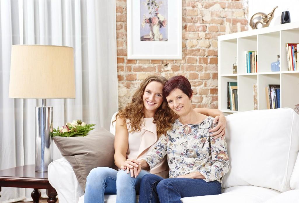 Katinka és édesanyja