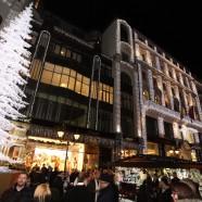 Már karácsonyi hangulatban a Fashion Street
