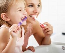 Gyerekek mossatok fogat!