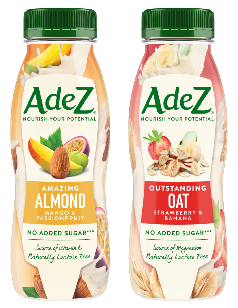 AdeZ mandula alapú ital_mango and passionfruit és zab alapú ital_strawberry and banana_250 ml_kiskép